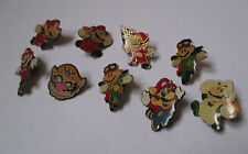 lot de 9 Pin's jeu vidéo nintendo / Mario Bros