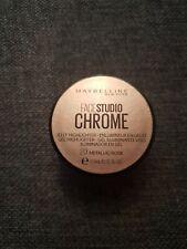Maybelline Face Studio Chrome jelly Highlighter  - 20 metallic rose - NEW