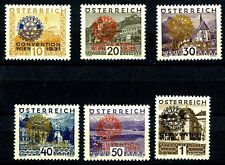 Austria 1931 Rotary Issues Complete Set 6 MH Scotts B87 B88 B89 B90 B91 B92 (S2