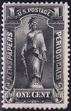 US STAMP BOB #PR114 1C 1895-97 Newspaper Periodicals Stamp UNUSED NG $2