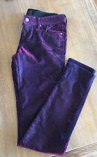 Tripp NYC By Daang Goodman Iridescent Purple Jeans Burning Man Rave 26