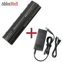 Battery/Charger f/ HP Pavilion g6-1000 g7-1000 g4-1000 dv7-6000 DV6 DM4 MU06 LOT