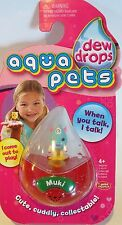 MUKI Interactive Talking Pet Dew Drops Aqua Pets Wild Planet Toys