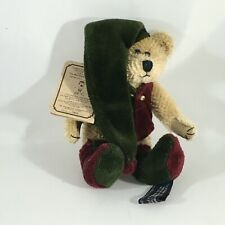 "Boyds Bears Mohair Elfwood Bearington #590100 - 5"" Plush 1999- Retired"