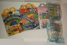 1998 McDonalds Barbie Toys #1 Teen Skipper, #3 Eatin' Fun Kelly MIP + Meal Boxes