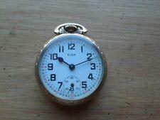 Elgin 887, 16s 17 Jewel Pocket Watch, 10K R.G.P. Case