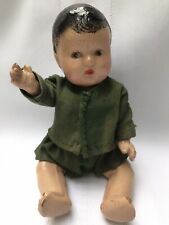 Antique Vintage Baby Boy Doll Composition 1940'S