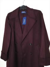 Ralph Lauren Polo mens wool blend peacoat jacket size XS NWT RRP £599