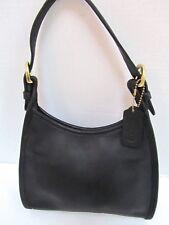 Coach Black Leather Small Soho Satchel Hobo Bag B8C-4106 EXC