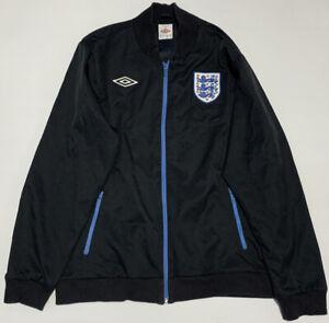 Umbro England Mens Football Soccer Full Zip Jumper Jacket Size XL 005914268