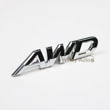 AWD ABS Emblem Tailgate Side Sticker Badge For 4x4 All Wheel Drive SUV Off Road