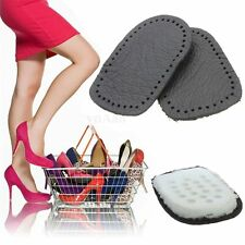 Leather Heel Support Cushions Insoles Inserts Pads For High Heeled Shoes Boots