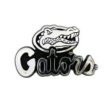 New NCAA Florida Gators Car Truck Plastic Chrome 3-D Sticker Decal Emblem