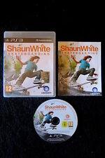 PS3 : SHAUN WHITE : SKATEBOARDING - Completo, ITA ! Trasforma il tuo mondo !