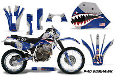 AMR Racing Honda XR600R Graphic Decals Number Plate Kit Stickers 91-00 WARHAWK
