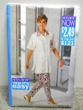 Butterick Vintage Sewing Pattern # 6123 Misses Top & Pants Sz 16-24 Uncut 1992