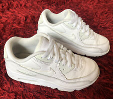 Kids Nike Air Max 90 Trainers Size Uk 13