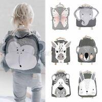 Cotton Children Backpack Animal School Backpack Bag Kinder Children Day Care