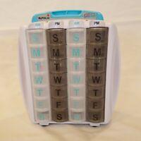 PillRite Pill Management 4 Week Pillbox Organizer System