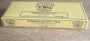 TWG Green Tea  - JASMINE QUEEN TEA - 15 Cotton Tea Bags