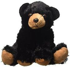 "Wild Republic, Cuddlekins 8"" BLACK BEAR Stuffed Animal Plush Toy, NEW, Lifelike"