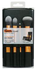Real Techniques Core Collection Brush Set 4 brushes + Case 1403 Clearance Sale!