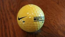 100 Nike yellow stripe range golf balls (used)