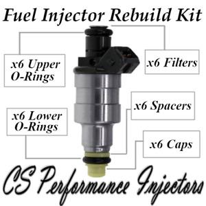 Bosch 0280150231 Fuel Injectors Rebuild Kit for Buick Oldsmobile Pontiac 3.0L V6