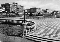 Cartolina - Postcard - Livorno - Terrazza Mascagni - Albergo Palazzo - 1959 - VG
