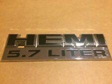 2006 07 08 09 10 11 2012 Dodge Ram HEMI 5.7 Liter Emblem 55078115AA Nameplate