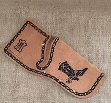 Vintage Toy Leather Gun Hoist