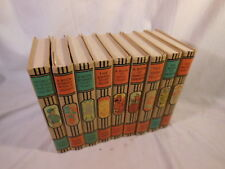 YOUNG FOLKS LIBRARY Lot of 9 Vol. SUPER CLEAN Antique 1952