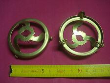 1 griffe en laiton 57 mm trou de 11 mm neuve, suspension abat jour à collerette
