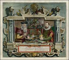 Portrait von Gerard Mercator und Jodocus Hondius von Coletta Hondi Er Aufdruck