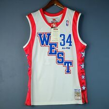 100% Authentic Shaquille O'Neal Mitchell & Ness 04 All Star Jersey Size 44 L