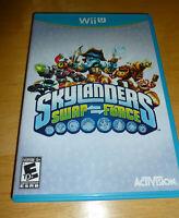 Nintendo Wii U Game Skylanders Swap Force with Portal of Power and 3 Skylanders