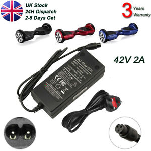 42V Fast Charger Power Adapter for Segway Swegway Smart Hoverboard Balance Board