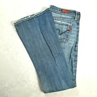CITIZENS OF HUMANITY Womens INGRID #002 Low Waist Flare Jeans Size 26 REGULAR