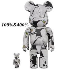 Bearbrick Medicom 2020 Banksy  Flower Bomber 100% & 400% Set Be@rbrick Toy