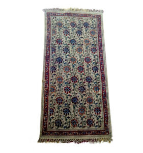 Hasini Handloom Multicolor Floral Pattern Cotton Yoga Mat