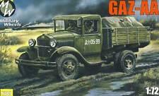 MW - GAZ-AA RUSSO AUTOCARRO CAMION TRASPORTATORE modello KIT 1:72