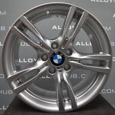 "Genuine BMW 3/4 Series 400M SPORT 18"" pollici Argento Singolo Posteriore Ruota in Lega 8.5J X1"