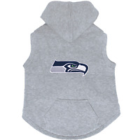 NEW SEATTLE SEAHAWKS DOG PET PREMIUM HOODIE SWEATSHIRT EMBROIDERED PATCH LICENSE