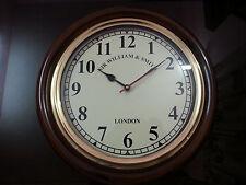 "Vintage Collectible Replica Antique Wooden Clock 16"" Maritime Home wall Decor"