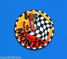 KICA - Sorprese Decalcomania Figurina-Sticker anni 60 - AUTODROMO DI MONZA 1