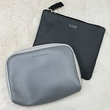 Tumi Delta Cole Haan American Airlines First Class Travel Cosmetic Amenity Bag