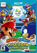 NEW Mario & and Sonic at the Rio 2016 Olympic Games (Nintendo Wii U, 2016)