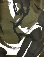 Arctic Camouflage 100% Cotton Drill Fabric