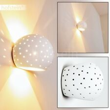 Applique Design Lampe murale Céramique Spot Up/Down Blanc Lampe de salon 185407