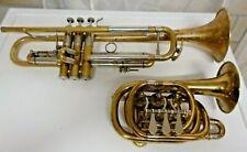 Bb Drehventil Trompete - Spezialbau nur 22cm Klein :)